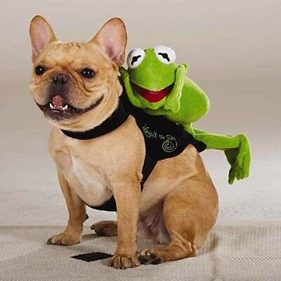 NWT Dog Rider Costume Kermit Muppet Frog L/XL L XL Large Halloween - Muppet Dog Costumes
