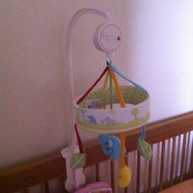 Baby cot mobile Mothercare