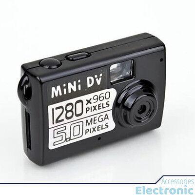 5MP Micro Smallest Portable Camera - Mini DV Digital Camera Video Recorder Black Smallest Digital Video