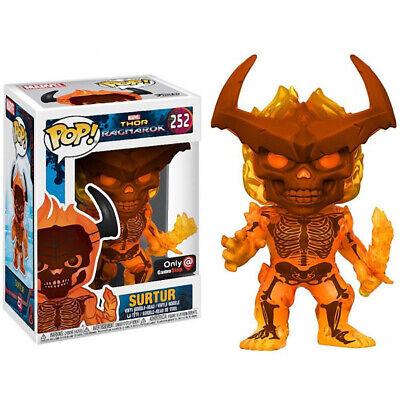Funko POP!: Marvel: Thor: Ragnarok: Surtur Exclusivo