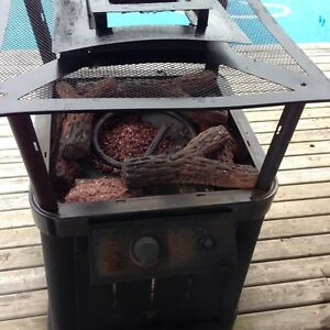Propane deck heater