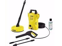 **Karcher K2 pressure washer with patio cleaner 240V 110bar**