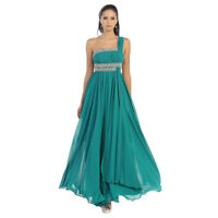Robe de bal, taille 10, couleur teal