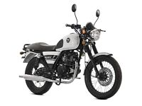 New Lexmoto Valient 125cc (Euro 3) - 2 Year Parts Warranty - Finance Available