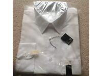"Mens White Shirt 16"" New in packaging"