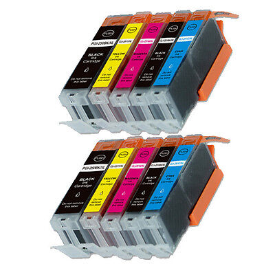 10 PK Ink Combo Set for Canon 250 251 Pixma MG5620 MX920 MG6600