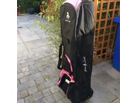 Travel bag for golf bag
