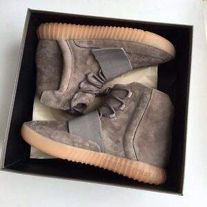 Adidas Yeezy 750 Brown 'Chocolate' - Size 8.5