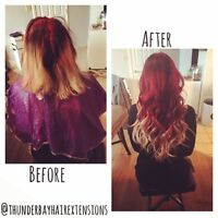 PROFESSIONAL PERMANENT HAIR EXTENSIONS