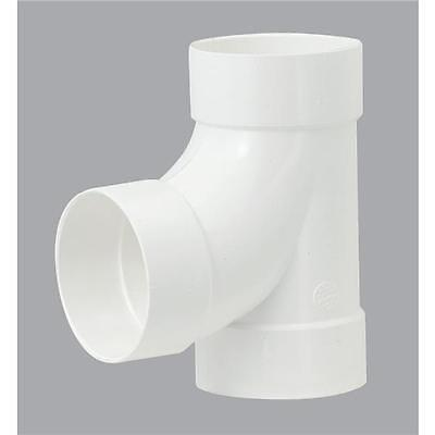 6-Genova PVC SDR-35 For Thin Wall Sewer & Drain Pipe 90 Degree Outlet Tee 41160 Sdr35 Pvc Pipe