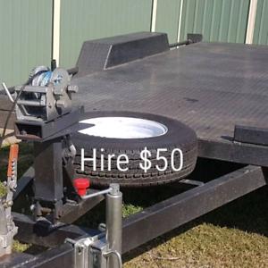 $50 car trailer hire 14ft