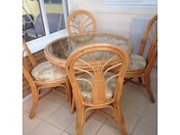 Conservatory table and chairs