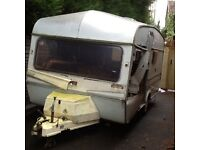 Ace ambassador 4 berth touring caravan Spares or repair - Towable Telford, Shropshire