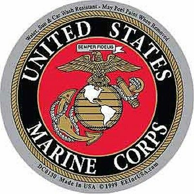 UNITED STATES MARINE CORPS MILITARY CAR VEHICLE WINDOW DECAL PATRIOTIC STICKER