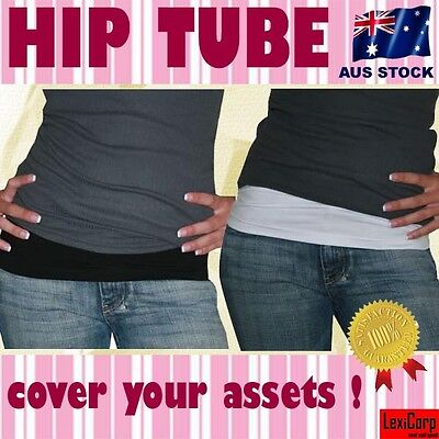 HIP T Tube Tummy Tucker Waist Band, Shaper Trendy Low rise Muffin Top, Boob Tube