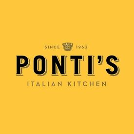 Waiting Staff Required at Ponti's Italian Kitchen, Oxford Circus
