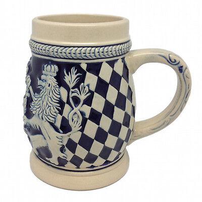 Bayern Coat of Arms Ceramic Beer Stein no/Lid