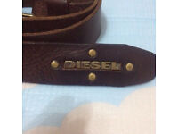 Diesel original leather belt at only £15, exactly as shown in the picture