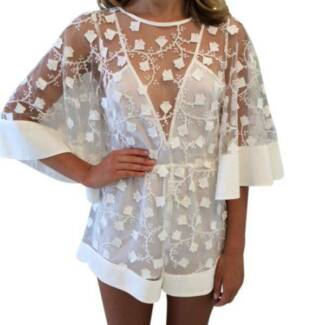 ALICE MCCALL GYPSY EYES PLAYSUIT - size 10 - NEW - with tags St Leonards Willoughby Area Preview