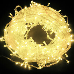 11m/100 LED Electric Fairy Light String Waterproof Outdoor Indoor Festival Decor