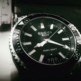 Gucci Dive Watch..like new!