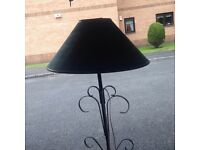 Standard Lamp With Green Shade