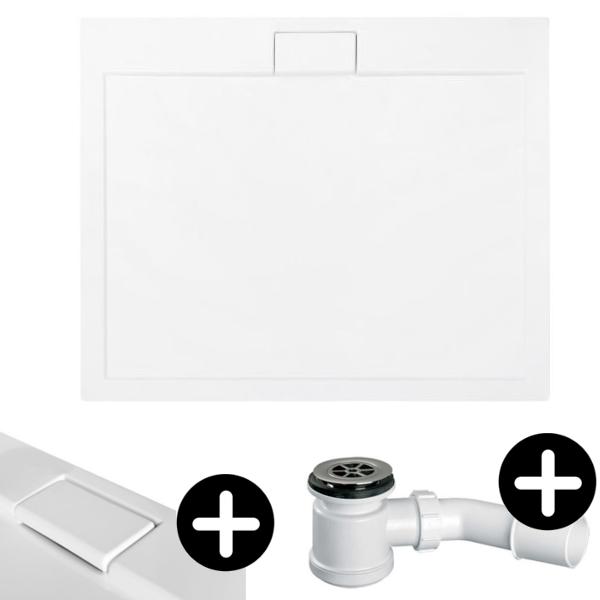 vbcbad duschwanne duschtasse superflach 100x80. Black Bedroom Furniture Sets. Home Design Ideas