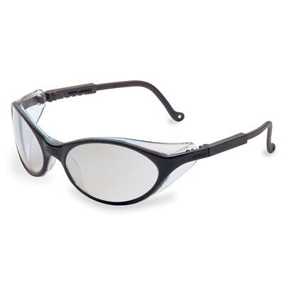 Uvex Bandit Safety Glasses With Indoor Outdoor Mirror Lens Black Frame