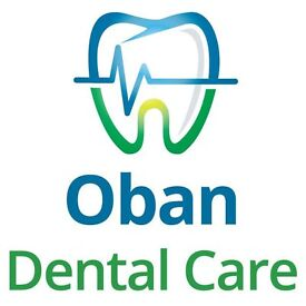 Associate Dentist needed for busy NHS/Private practice in Oban, near Glasgow