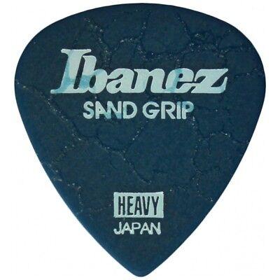 Ibanez Grip Wizard Sand Grip Crack Heavy Blue Plek Plektrum Plektren Plektron