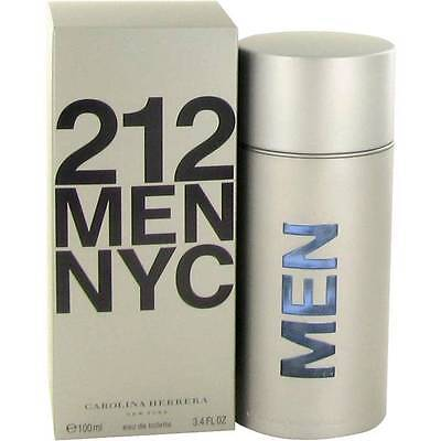 Carolina Herrera 212 Cologne Men Eau De Toilette Spray Fragrance New