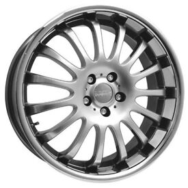 "brand new Equinox 8.5 front and 9.5 rear 19"" alloys 5/112 clearance offer"
