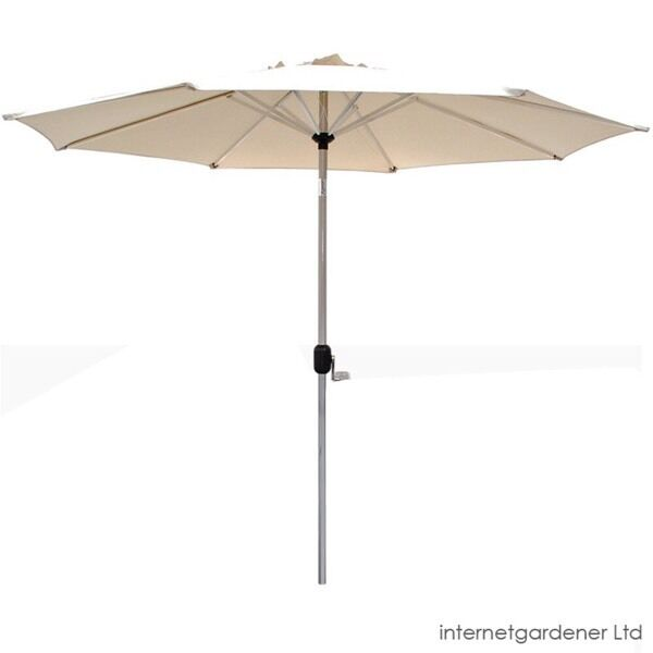 Garden parasol 2.7min Wokingham, BerkshireGumtree - Brand new maze rattan garden parasol in beige, idea for a 6 seater round table