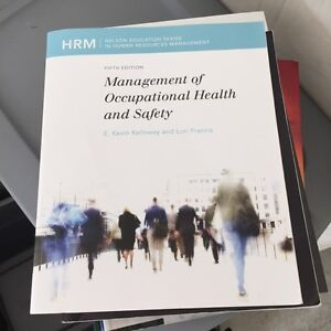 Management of Occupational Health and Safety 5th Edition