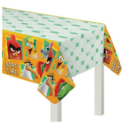 Angry Birds Party Decorations (Angry Birds 2 Plastic Table Cover ~ Kids Birthday Party Decoration)