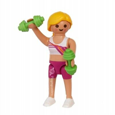 PLAYMOBIL Serie 19 - 70566 Chica Fitness, Steampunk NUEVO / NEW