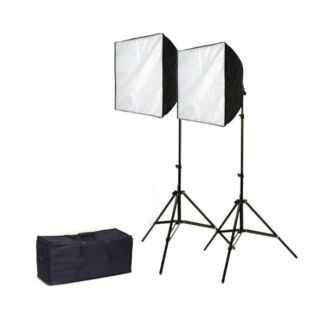 Video Lighting Kit - Daylight 2200 - 2x continuous lights