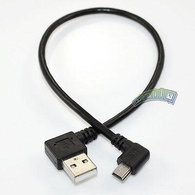 USB2.0 A Left Angle male to Mini B 5Pin Left Angle Male...