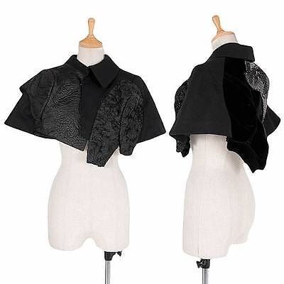 (SALE) COMME des GARCONS Decorative switching wool cape Size S(K-30070)