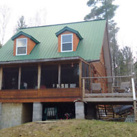 Cottage for Sale - Roddick Lake with 300 feet of waterfront