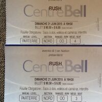 Rush R40 Tour tickets