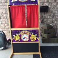 Puppet Theater - mastermind toys brand new 65$