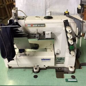 ASSORTED INDUSTRIAL SEWING MACHINES FOR SALE