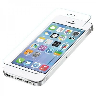 3X 100% Genuine Tempered Glass Film Screen Protector for Apple iPhone 5S