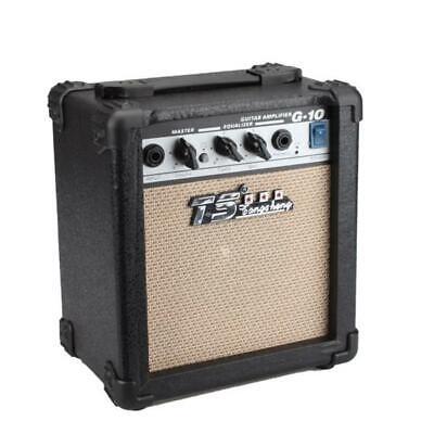 Acoustic Guitar Amp Amplifier (Portable 10W Electric Guitar Amplifier Amp Acoustic Guitar Amplifier Black )