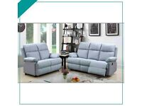 💖🎉Don't wait..! Order Now -Sale on MILANO GREY RECLINER 3+2 SOFA AVAILABLE With fast delivery🎉💝