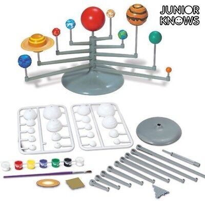 Solar System Planets Set - Space Astronomy  + Paint brush + 7 colours painting