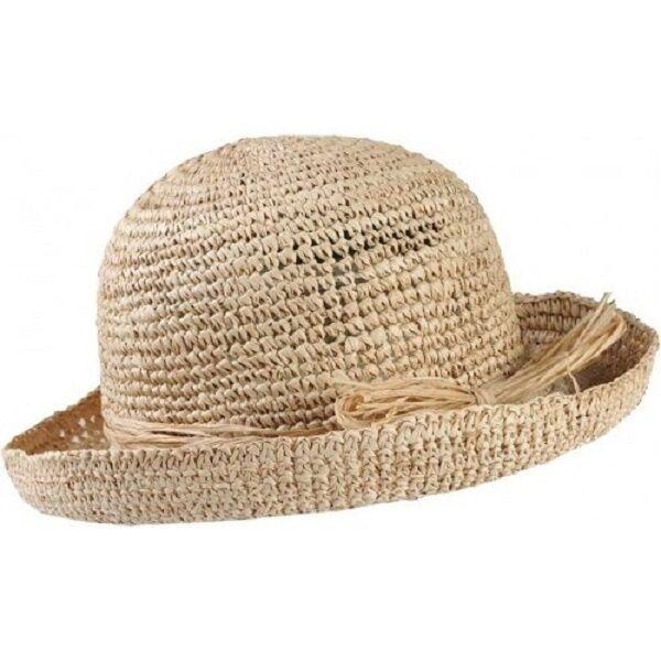 trekmates s raffia straw packable travel sun hat