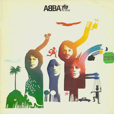 Abba - The Album VINYL LP POLS282
