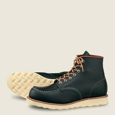 NEW Red Wing Classic Moc Men's 6-Inch Boot in Navy Portage Leather 8859 - 11.5